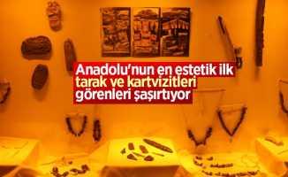 Anadolu'nun ilk tarak ve kartvizitleri Samsun'da bulundu