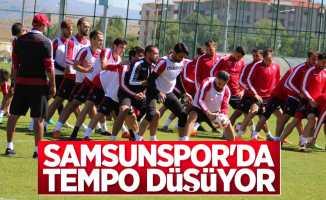 Samsunspor'da tempo düşüyor