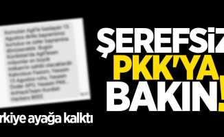 Türkiye'yi ayağa kaldıran SMS
