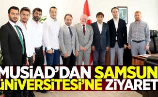 MUSİAD'tan Samsun Üniversitesi'ne ziyaret