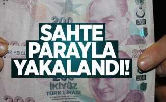 Samsun'da piyasaya sahte para süren şahıs yakalandı