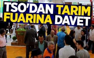 TSO Başkanı Muzioğlu'ndan fuara davet