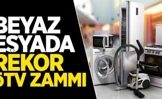 Beyaz eşya fiyatlarında rekor ÖTV zammı