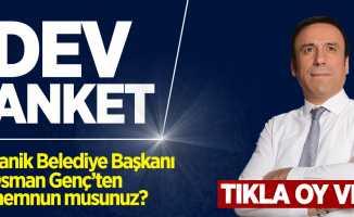 Canik Belediye Başkanı Osman Genç'ten memnun musunuz?
