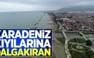 Karadeniz kıyılarına dalgakıran
