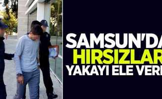 Samsun'da hırsızlar yakayı ele verdi
