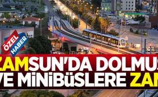 Samsun'da ulaşım ücretlerine zam