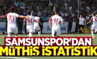 Samsunspor'dan 5 maçlık müthiş istatistik