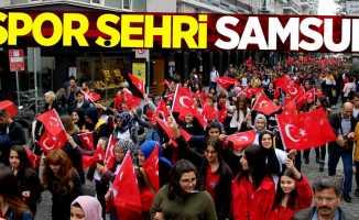Spor şehri Samsun