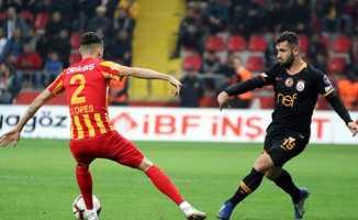 Galatasaray 3 golle 3 puan aldı