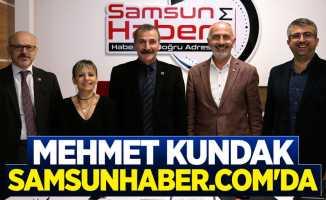 Mehmet kundak'tan Samsunhaber.com'a ziyaret