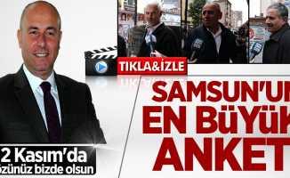 Samsun yerel seçim anketi sonuçları: Hasan Togar ile tamam mı devam mı?