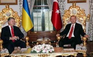 Ukranya ile masaya oturuldu