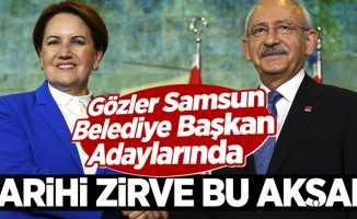 İYİ Parti ve CHP Arasında Kritik Zirve! Gözler Samsun Belediye Başkan Adaylarında