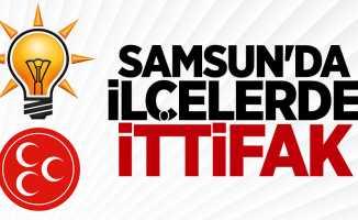 Samsun'da AK Parti ve MHP İttifak Yapacak