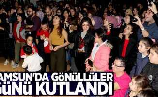 Samsun'da STK gönüllüleri, gününü kutladı