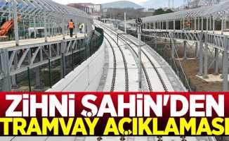 Başkan Zihni Şahin'den OMÜ tramvay hattı açıklaması