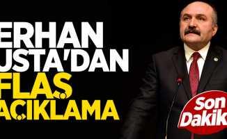 Erhan Usta'dan Flaş Açıklama