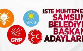 İşte Muhtemel Samsun Belediye Başkan Adayları! Aday toto dönemi!
