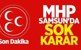 MHP Samsun İl Başkanı Değişti!