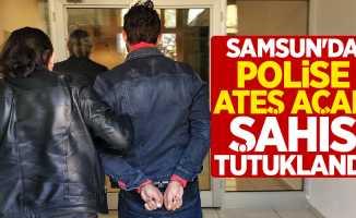 Samsun'da polise ateş açan şahıs tutuklandı