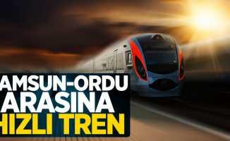 Samsun - Ordu Arasına Hızlı Tren