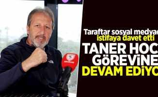 Taraftar sosyal medyadan istifaya davet etti