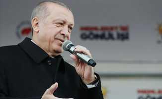 Cumhurbaşkanı Erdoğan, Kılıçdaroğlu'na yüklendi