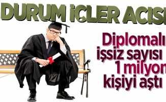 Diplomalı işsiz sayısı 1 milyondan fazla
