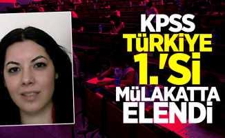 KPSS Türkiye 1.'si Mülakatta Elendi!