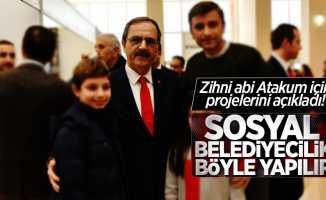 Zihni abi Atakum için projelerini açıkladı! Sosyal belediyecilik böyle yapılır