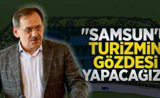 Mustafa Demir: Samsun'u turizmin gözdesi yapacağız