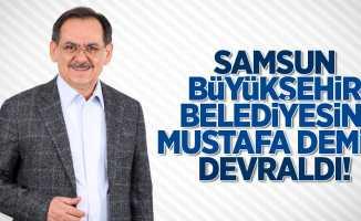 Samsun Büyükşehir Belediyesini Mustafa Demir devraldı!