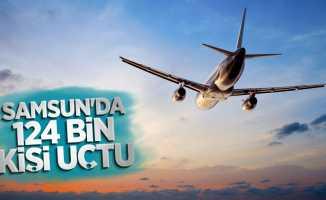 Samsun'da 124 bin kişi uçtu