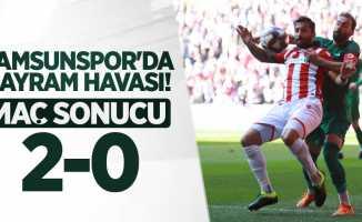 Samsunspor'da bayram havası! Samsunspor 2-0 Bayrampaşa