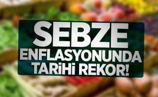 Sebze enflasyonunda tarihi rekor!