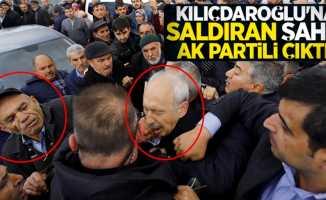 Kemal Kılıçdaroğlu'na saldıran şahıs AK Partili çıktı!