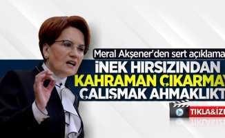 Meral Akşener'den Kılıçdaroğlu'na saldıran şahıs hakkında flaş açıklamalar