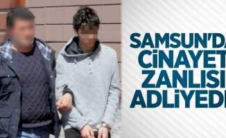 Samsun'da cinayet zanlısı adliyede