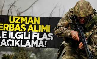 Jandarma Uzman Erbaş alımı ile ilgili flaş açıklama