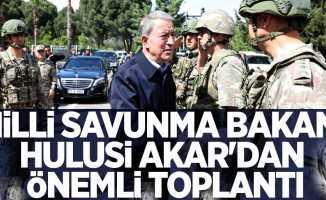 Milli Savunma Bakanı Hulusi Akar'dan Önemli Toplantı