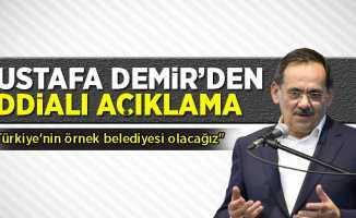 Mustafa Demir'den İddialı Açıklama