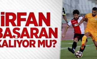 Samsunspor'da İrfan Başaran kalıyor mu ?