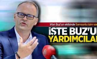 Samsunspor'un yeni hocası İrfan Buz'un yardımcıları