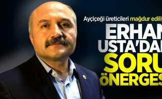 Erhan Usta'dan Bakan Pakdemirli'ye soru önergesi