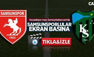 Samsunspor-Kocaelispor hazırlık maçı izle