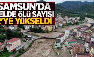 Samsun'da selde ölü sayısı 2'ye yükseldi