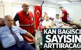 Başkan Demirtaş: Kan bağışçısı sayısını arttıracağız