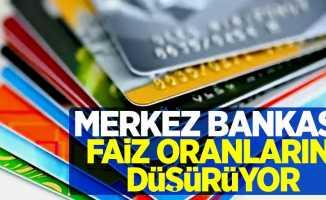 Merkez Bankası faiz oranlarını düşürüyor