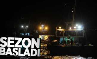 Samsun'da balık sezonu başladı